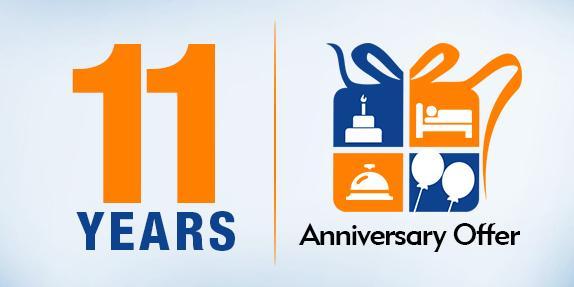 11th Anniversary Offer! Grab upto 30% cashback on Domestic Flights ...