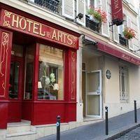 Exterior view | Hotel Des Arts Paris Montmartre - Montmartre - Sacre Coeur (18)
