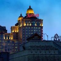 Exterior view   Beijing Marriott Hotel City Wall - Dongcheng - Wangfujing
