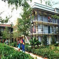 Exterior view   Disney Port Orleans Resort - French Quarter -