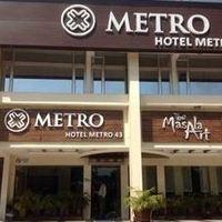 3 Star 5 Of Hotel Metro 43 Near Sector Bus Terminus Chandigarh